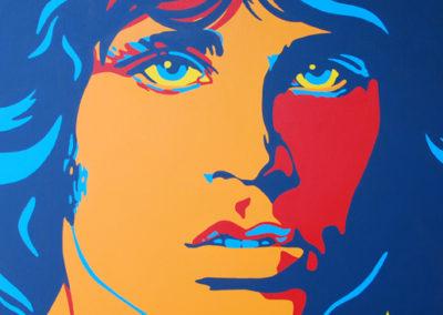 Jim Morrison 36x36