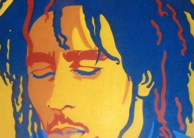 Bob Marley 36x36