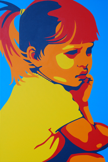 Ashley Deep In Thought 24x36 NFS