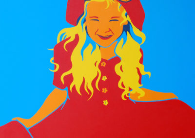 In A Red Dress 36x36 NFS