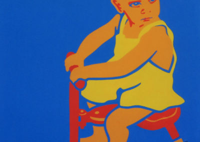 Dad As A Boy NFS 36x36