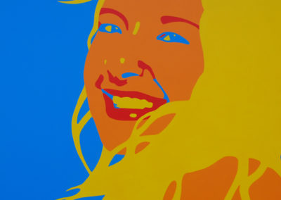 Tayler In The Sun 36x36 NFS