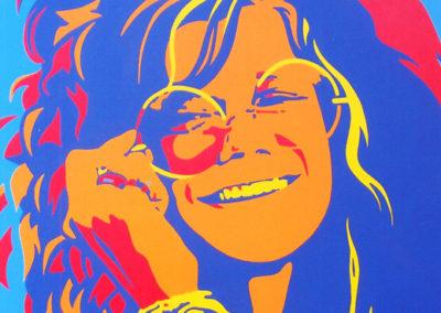 Janis Joplin 36x36