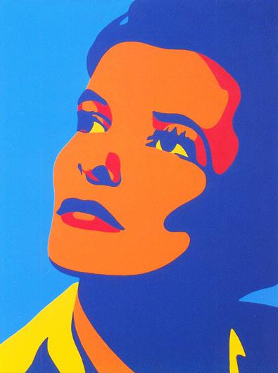 Katharine Hepburn 30x40